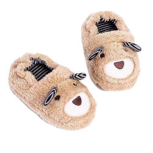 Jee Trum Toddler Boys Girls Warm Indoor Home Slippers