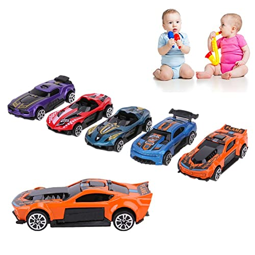 minihorse QUQUMA Pull Back Vehicles Motorcycle Race Vehicles Toy for Kids Toddlers Boys Child 3 in 1 Race Car Toy Pull Back /& Go Car Toy Play Set Blue