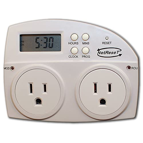 DEWENWILS Power Strip Surge Protector With Timer For Electrical Appliances Grow
