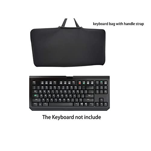 Case Wonder Soft New Neoprene Sleeve Case Portable Protection Zipper Carrying Cover Bags Skin for Apple Wireless Bluetooth Keyboard MC184LL//B MC184CH and MLA22LL//A Logitech Bluetooth Easy-Switch K811 Bluetooth Illuminated K810 Wireless Bluetooth Keyboa