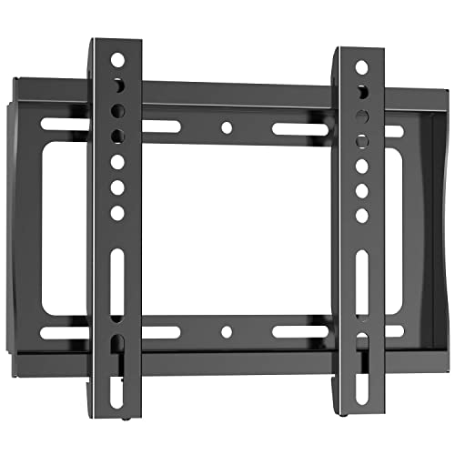 Holds Up to 88lbs Flat Panel Fixed Wall Mount Bracket for 26-47 TV//Monitor