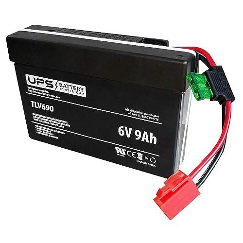 Telong TL1223 UPSBatteryCenter 12V 2.6Ah F1 Replacement Battery