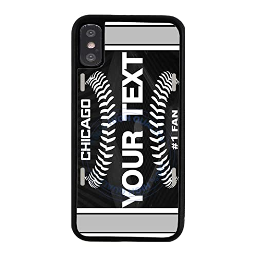 BRGiftShop Personalize Your Own SUV Bumper Car Grill Red License Plate Rubber Phone Case For Apple iPhone XR