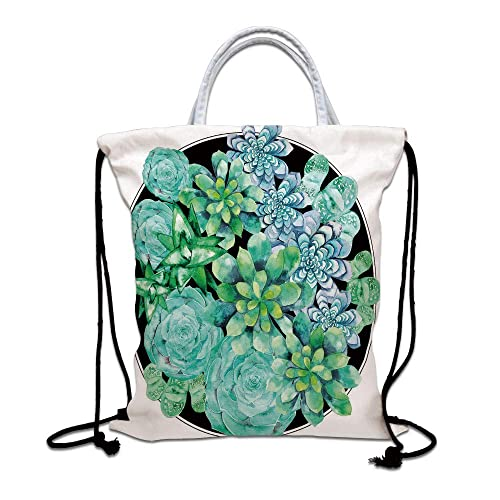 Unisex Bundle Backpack Red Tulip Travel Durable Large Space Cool Waterproof Drawstring Bag