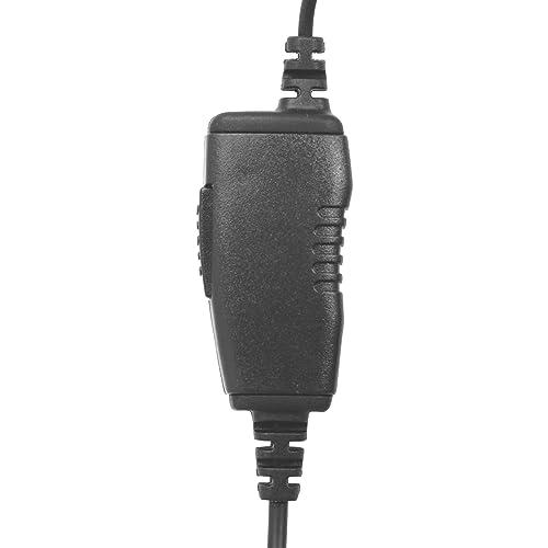 1-Wire Earhook Braided Fiber Earpiece Inline PTT for Motorola XPR3300e XPR3500e