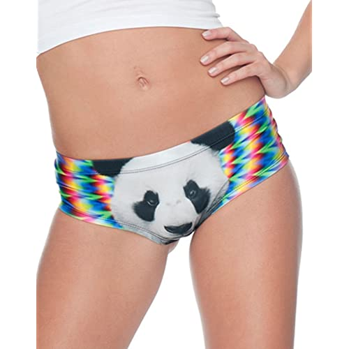 Eoyles Women Girls Cotton Underwear Hockey Player Mid//Low Waist Cute Panties Pack