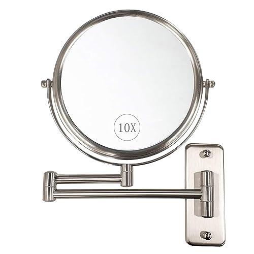 Wall Mounted Makeup Mirror 10x