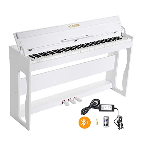 LAGRIMA LG-802 88-Key Weighted Heavy Hammer Beginner Digital Piano ...