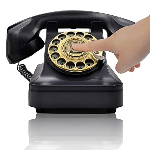 Rotary Dial Phones Decorative Corded