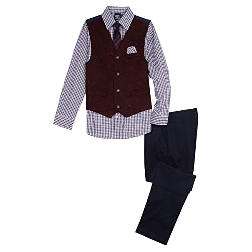 Nautica Dresswear Childrens Apparel Little Boys Tuxedo Suit Set W// Tie