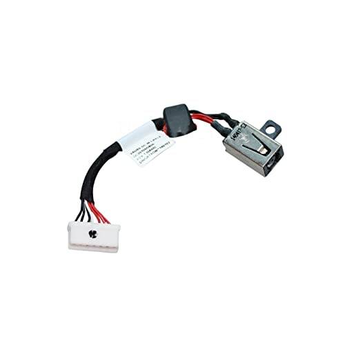 DC POWER JACK HARNESS IN CABLE FOR DELL Precision M3800 Charging Port Connector