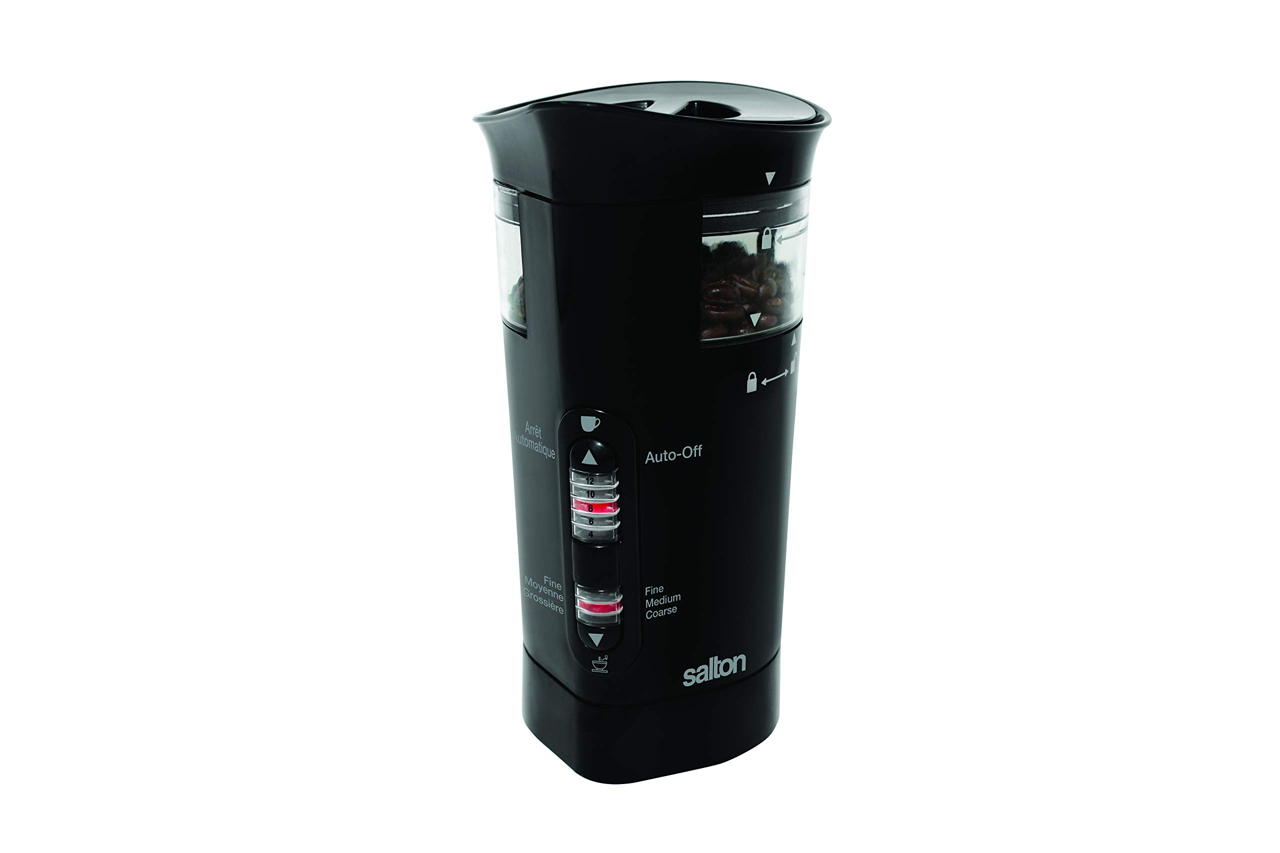 Salton CG7B Coffee and Spice Grinder Black