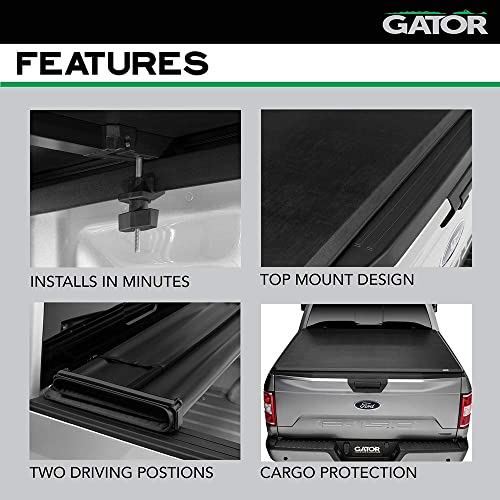 Gator Etx Soft Tri Fold Truck Bed Tonneau Cover 5 1 2 Ft Bed Fits Toyota Tundra 2014 19 59416