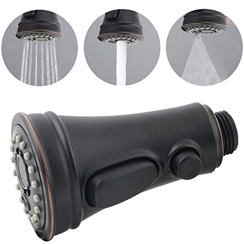 Buy Pull Out Spray Head 3 Modes For Kitchen Sink Faucet Kitchen Sink Faucet Sprayer Nozzle Head Pull Out Hose Sprayer Replacement Part Kitchen Tap Spout Replacement Part Oil Rubbed Bronze Online
