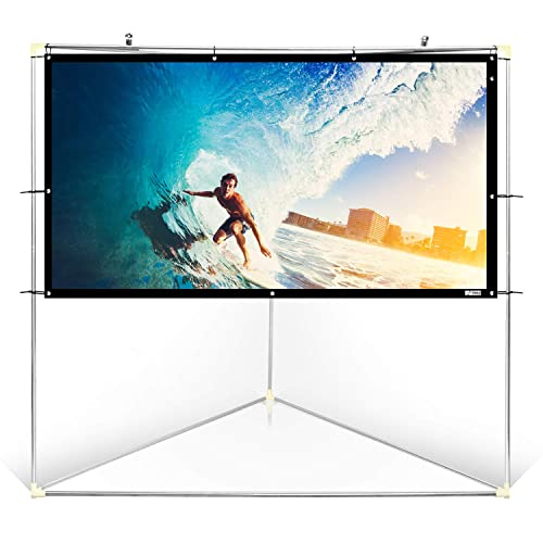 Matt White Theater Tv Projector Screen