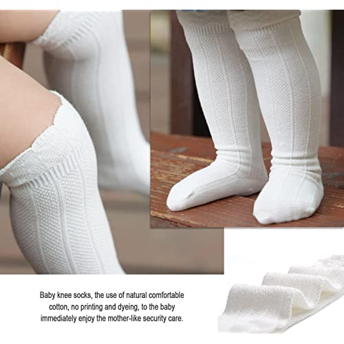 Pack of 3//5 Epeius Baby Girls Boys Uniform Knee High Socks Tube Ruffled Stockings Infants and Toddlers
