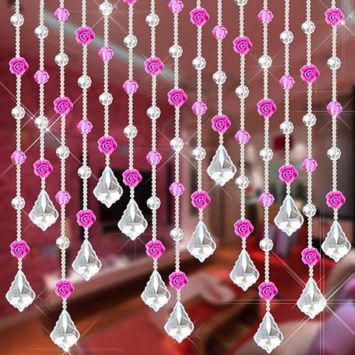 "10x Wedding Crystal Prisms Octagon Bead Chain Chandelier Part Hanging Drop 12.6/"""