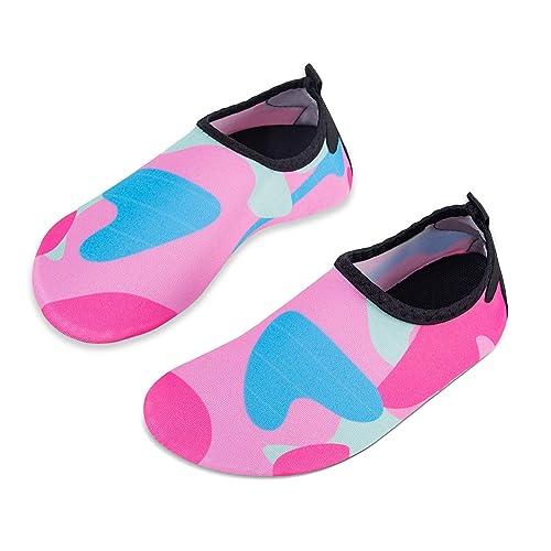 Kids Children Barefoot Water Shoes Beach Slip On Boys Girls Aqua Swimming Socks