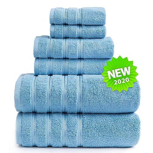 Sofi Towel 700 Gsm Plush Bathroom Towels 6 Piece Luxuury Comfort