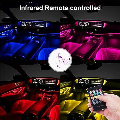 Scelet 4M LED Strip Lights 12V Low-Voltage Striplight LED Tape Lighting for Car Interior Ambient Light Decor Optical Fiber Lamp Door Light