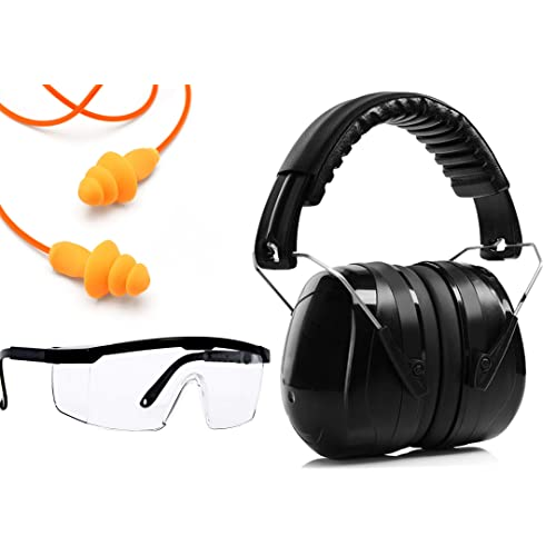 Construction Mowing Ear Protection For Shooting Ear Muffs Noise Protection Se