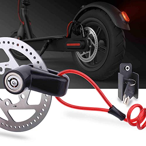 Xiaomi Mijia M365 Electric Scooter Anti-theft Bicycle Disc Brakes Wheels Lock