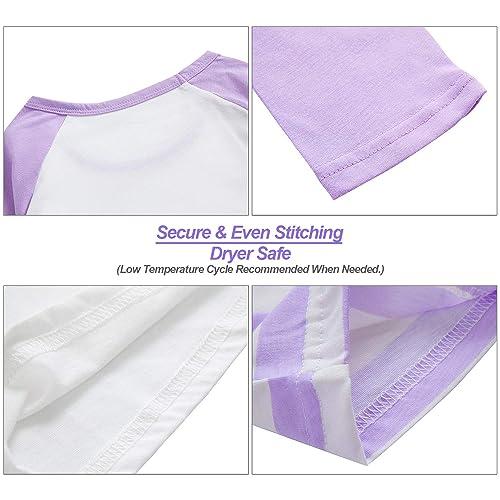 Pajamas for Girls Size 6-16 Pants /& Long Sleeve Jammies Glitter Heart /& Stripe Tween//Teens Fall Cloths Set