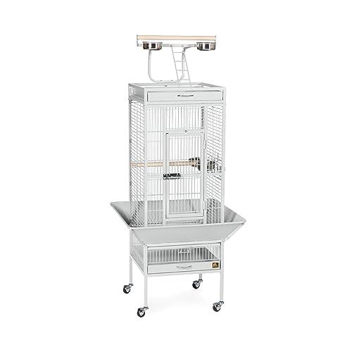 Prevue Hendryx 91351 Square Roof Bird Cage Kit Black