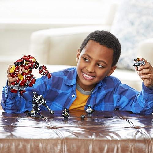 LEGO UK 76104 The Hulkbuster Smash-Up Age 7-14 Years