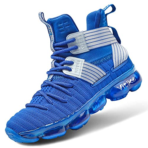 Vitike Boys Basketball Shoes Professional Athletic Sneakers little//big kids