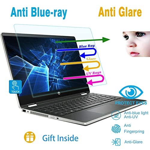 COOSKIN 2 Pack Anti-Glare Laptop Screen Protector Film for 15.6 Inch Laptop Display 345mmx194mm