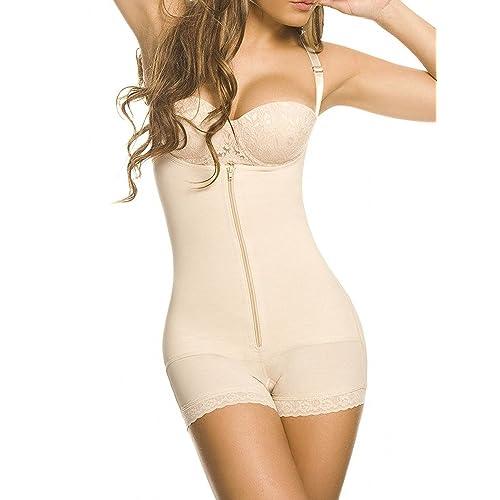 KSKshape Seamless Body Shaper Open Bust Shapewear Tummy Slimmer Bodysuit for Women