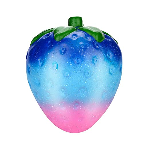 Blue Galaxy Unicor Cake Toy Slow Rising Fruits Scented Stress Relief Toy