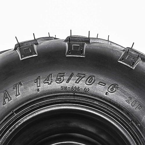 2 WANDA ATV Rear Tires Set 22x10-10  Arctic Cat 150 250 Sport P361