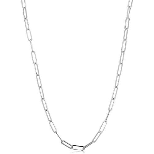 .925 Italy Sterling Silver /& 14k Yellow Gold Round Box 2.5mm Link Chain Necklace