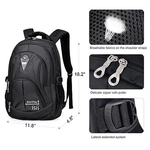 CrossLandy Classic School Bookbag Lightweight 15.6/'/' College Laptop Backpack Set