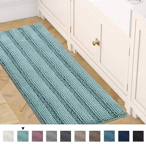 Bath Rug Runner 47 X 17 Bathroom Rug Bath Mat Non Slip Striped