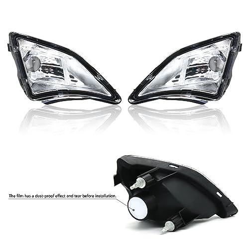 BSK Turn Signal Lens Deep Dish Chrome Bezels Cover for Harley Davidson Smoke
