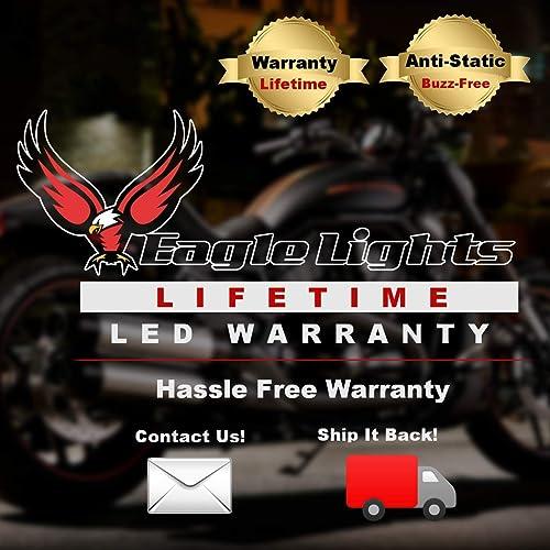 Lifetime Warranty Eagle Lights 5 3//4 Harley LED Headlight Sportster Dyna