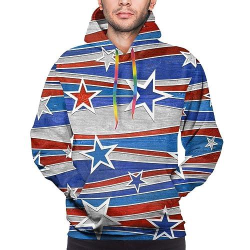 NAGRI Kanye Rolling Loud Hip Hop Mens Heavyweight Sweatshirts LA Poppin Natural Graphic Printed Hoodie