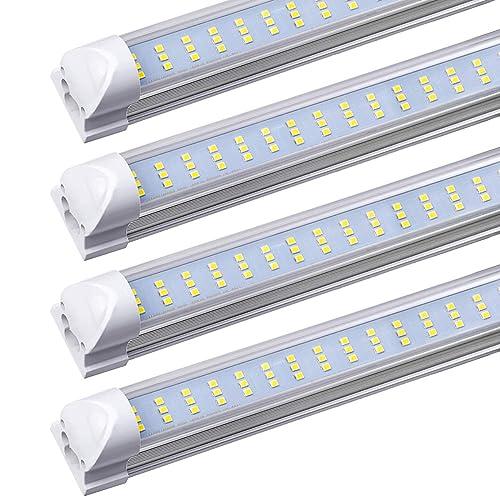 5000K T8 Tubes Included 2 x PARMIDA 4ft 36W Strip Light Fixture Commercial ETL