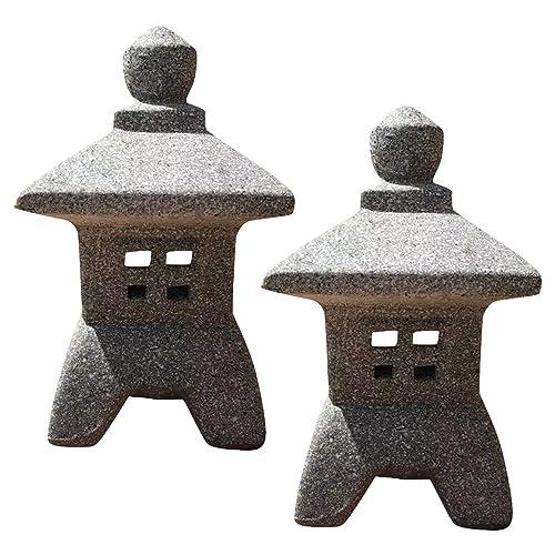 Zen Garden Decor Japanese Lantern, Zen Garden Sculptures