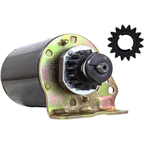 STARTER FITS JOHN DEERE TRACTOR SABRE 1542HS 1546G 1646HS WITH FREE GEAR 497595