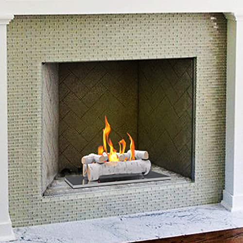 Buy Regal Flame 6 Pc 22 Ceramic Wood Large Gas Fireplace Logs For