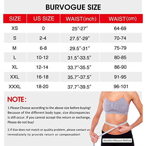 Burvogue Waist Trainer for Weight Loss-Women Trimmer Slimmer Belt Latex Corset Cincher Body Shaper /…