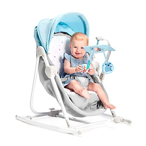 Soft Padded Baby Teddy Bear Bouncer Recliner with Soothing Music Vibration and Toys 0m+ 078