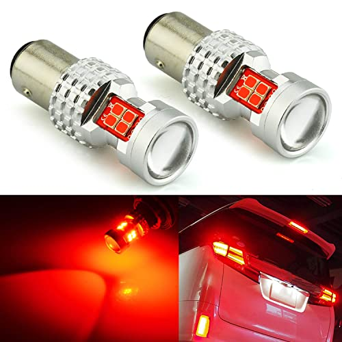 Only used for backup reverse lights JDM ASTAR 960 Lumens Super Bright 5730 Chipsets 3056 3156 3057 3157 LED Bulbs with Projector,Xenon White