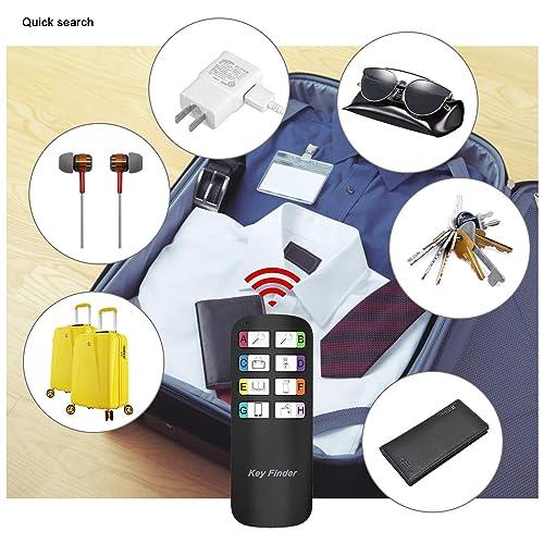Key Finder Magicfly Wireless RF Item Locator Upgrade Long Lasting Batteries