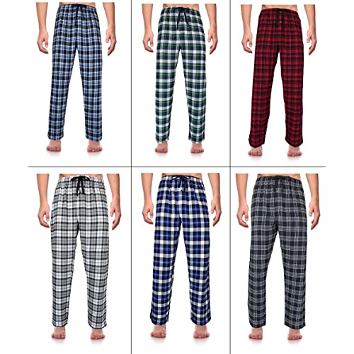 Casual Trends Classical Sleepwear Men/'s 100/% Cotton Flannel Pajama Set,