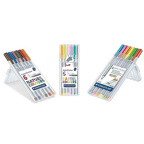 Staedtler 308 Pigment Liner Fineliner Blue Single 0.3mm